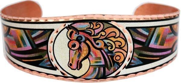 Horse Bracelets Designed by Boob Coonts