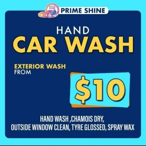 PRIME SHINE HAND CAR WASH & DETAILING
