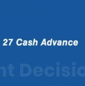 27 Cash Advance