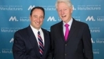 5 Reasons Bill Clinton Says U.S. Manufacturing Will Grow and Prosper