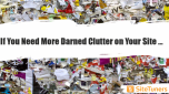 If You Need More Darned Clutter on Your Site