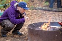 Campfire Tool: Pocket Bellows Builds Fire By Blasting Air