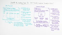 Should My Landing Page Be SEO-Focused, Conversion-Focused, or Both? - Rand's Whiteboard Friday