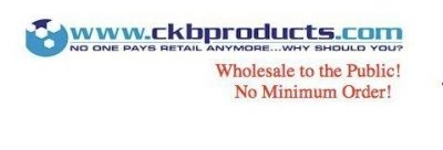 CKB Products Wholesale